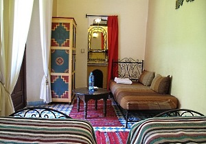 Riad Dar Tamlil Room Twin